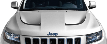 Jeep Grand Cherokee 2015, 2016, 2017, 2018 SRT Hood Vent Accent Stripes