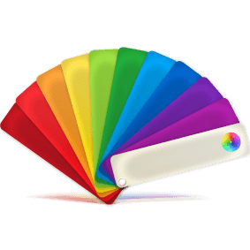 View Color Charts Icon